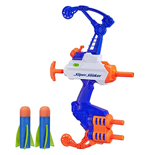 New NERF Super Soaker Water Blaster Kids Summer Pool Pump Squirt Gun Toy Bow (Super Soaker 100 compare prices)