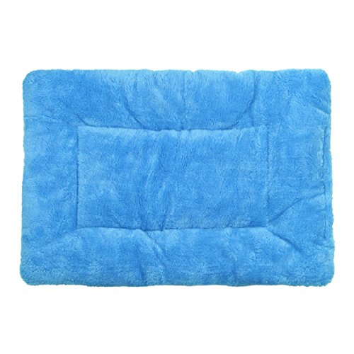 AutumnFall® Puppy Blanket Pet Cushion Small Dog Cat Bed Soft Warm Sleep Mat (A)
