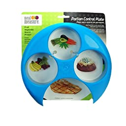 Meal Measure 1 Portion Control Tool Color Blue- Pack Of Two