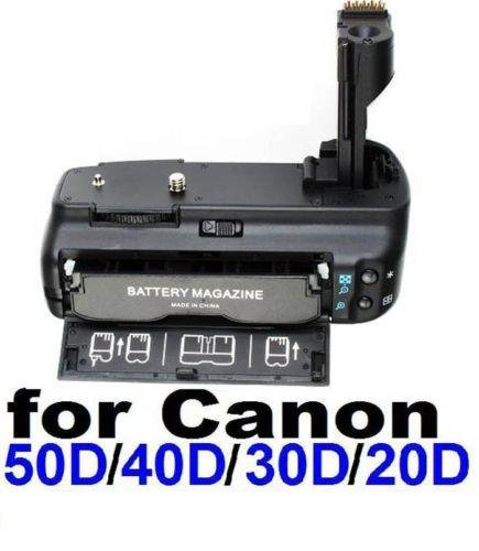 Neewer Battery Grip for Canon EOS 20D/30D/40D/50D D-SLR BG-E2N