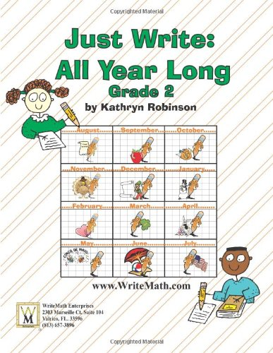 Second Grade Writing Activities, Prompts, Lessons | Complete Writing Program (Just Write, Grade 2)
