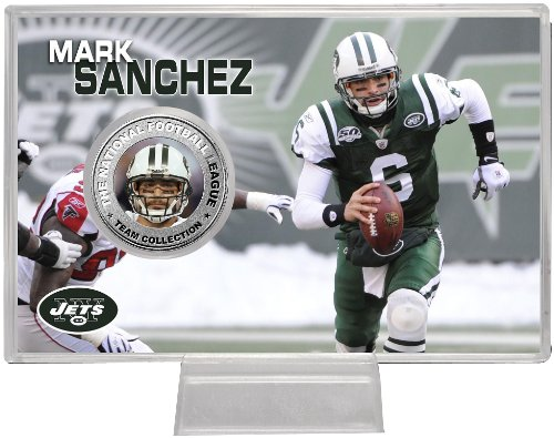 Highland Mint NFL New York Jets Mark Sanchez Silver Coin Card at Amazon.com