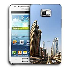 Snoogg Eclipse Printed Protective Phone Back Case Cover For Samsung Galaxy S2 / S II