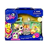 Littlest Pet Shop: On The Go Scoops N' Shake Shop Cow (#1351) In Ice Cream Shop Action Figure