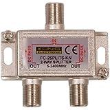 König FC-2SPLT-ST-KN cable divisor y combinador - Splitter/Combinador de cables (F)