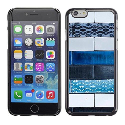 Pulsar Snap-on Series plastica caso dura Guscio Protettivo Cassa Cover Case per Apple Iphone 6 Plus 5.5 , Art Paint Street Hand Made