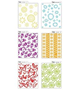 Sizzix Texturz Texture Plates-Kit #3