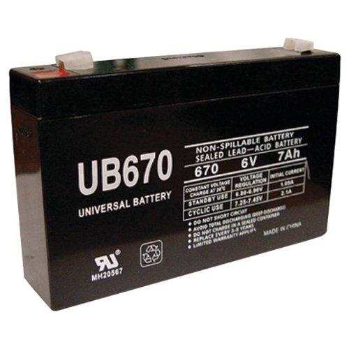 Universal Power Group 85932 Sealed Lead Acid Ba..