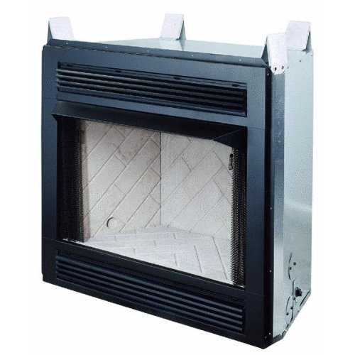 Covington Comfort Glow Firebox (Vent-Free Gas Logs Included)