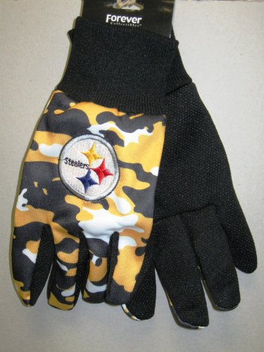 Pittsburgh Steelers Camo Utility Hand Gloves at Amazon.com