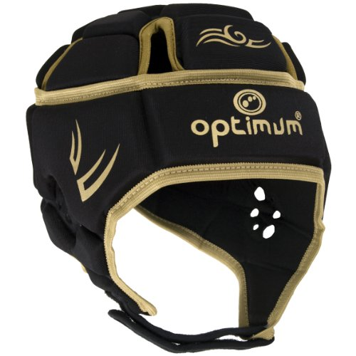 Optimum Hed Web Classic Tribal Mens Head Protection, Black/Gold - Large