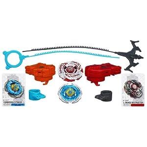 Amazon.com: Beyblade Metal Fury Dragon Emperor Life Destructor 2-Pack