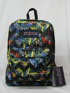 Jansport Mens Superbreak Backpack, Black, One Size