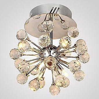 30W LED Luxus Decken Leuchte Wohn-Zimmer Kronleuchter Lüster Gold Lampe Messing
