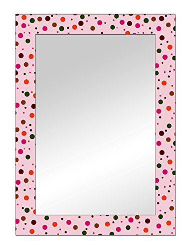 The Attic Providence Mirror Frame (Glossy Finish, Brown)