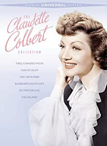 The Claudette Colbert Collection (Three-Cornered Moon / Maid of Salem /  I Met Him in Paris / Bluebeard's Eighth Wife / No Time for Love / The Egg and I) (Sous-titres français) [Import]