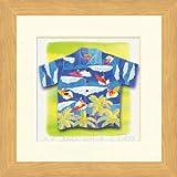 JIG アートフレーム 栗乃木ハルミ Sサイズ Aloha/surfing ZHK-60339