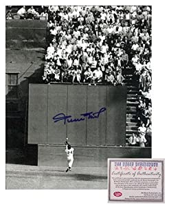 Willie Mays San Francisco Giants MLB Hand Signed 8x10 Photograph The Catch by All About Autographs