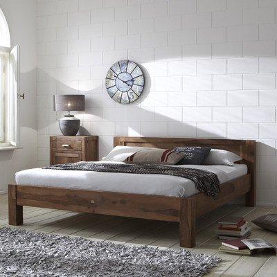 """Bett """"Wiam"""" Größe (Liegefläche): 140cm W x 200cm T, Farbe: Stone"""