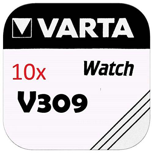 VARTA pILES bOUTON Lot de 10 - V309