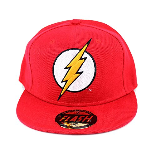 Codi - Cappellino Reversibile The Flash Logo Rosso