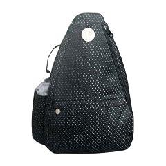 Buy Jet Pac Black Dot Sling Tennis Bag by Jet