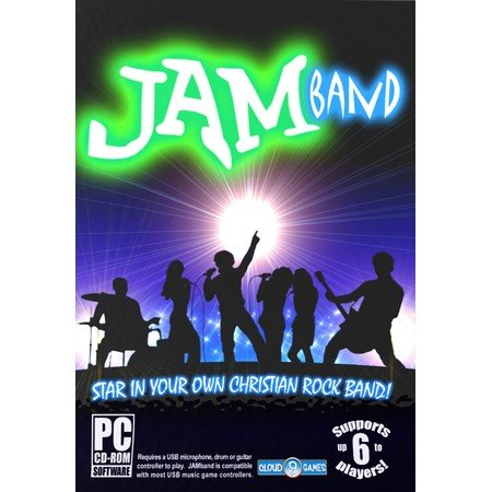 Jam Band Christian Rock Band Game Pc (Cd-Rom) Windows 7/Vista/Xp
