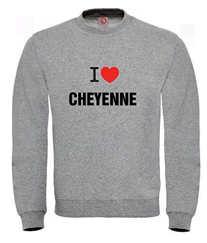 Felpa Cheyenne gray