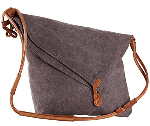 10. Tom Clovers Summer New Women's Men's Classy Look cool Simple style Casual Canvas Crossbody Messenger Shouder Handbag Tote Weekender Fashion Bag