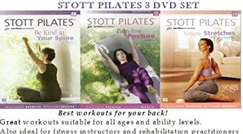 Stott Pilates Back Care Series (Pain-Free Posture / Be Kind to Your Spine / Simple Stretches)