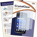 "2 x mumbi Displayschutzfolie Sony Ericsson Xperia Play Displayschutz ""CrystalClear"" unsichtbar"