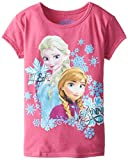 Extreme Concepts Little Girls' Disney Frozen Anna and Elsa Tee