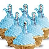 Cakeshop 12 x VORGESCHNITTENE UND ESSBARE Disney Princess...