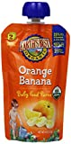 Earth's Best Puree Orange Banana, 4.2-Ounce (Pack of 12)