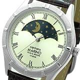 [マリノキャピターノ]MARINO capitano 腕時計 SUN & MOON サン&ムーン レザーバンド ブラウン MC-281M-5 メンズ