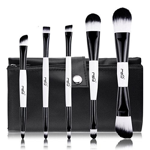 5-pcs-set-makeup-make-up-cosmetic-foundation-powder-brush-brushes-kabuki-w-bag