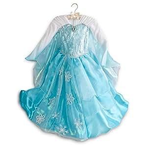Disney Frozen Princess Elsa Costume Size Medium 7/8