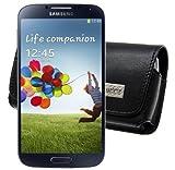 MTT Quertasche mit G�rtelclip und Sicherheitsschlaufe f�r das Samsung Galaxy S4 Active i9295 in schwarz