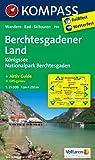 Berchtesgadener Land - Königssee - Nationalpark  Berchtesgaden: Wanderkarte mit Aktiv Guide, Radrouten und Skitouren. GPS-genau. 1:25000 (KOMPASS-Wanderkarten)