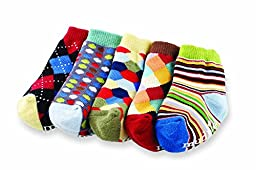Mud Pie Baby Boys\' Little Gents Sock Set