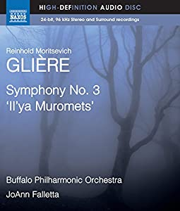 Gliere: Symphony No. 3 [JoAnn Falletta] [Naxos Blu Ray Audio: NBD0041] [DVD AUDIO] by Naxos Blu Ray Audio