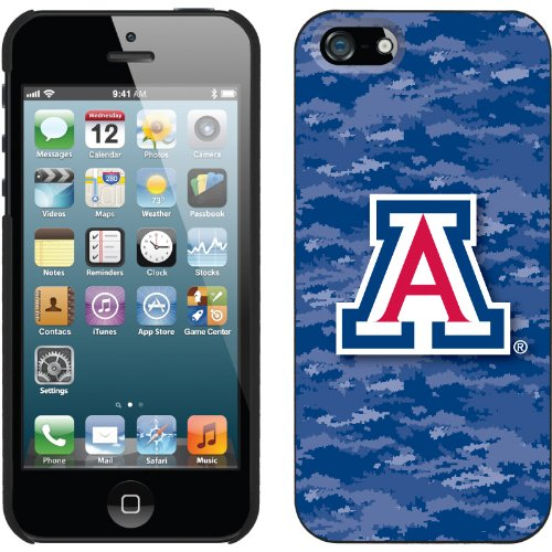 Special Sale University of Arizona Emblem on Camo design on a Black iPhone 5s / 5 Thinshield Snap-On Case by Coveroo