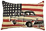 COMPASS American Chevy Throw Pillow, 12 x 18