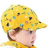 Malloom® Baby Hat Little Car Baseball Beret Cap Yellow