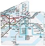 Mighty Wallet® - The Original Tyvek Wallet® - London Underground Map design