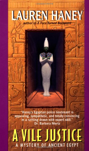 A Vile Justice (Mystery of Ancient Egypt)