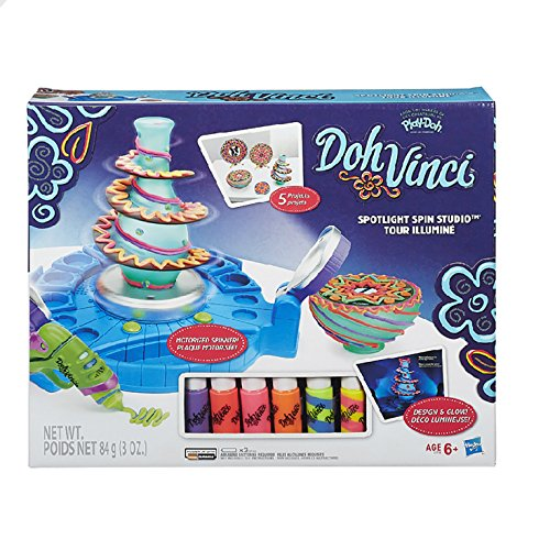 DohVinci Spotlight Spin Studio (Dohvinci Play Dough compare prices)