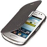 youcase - Samsung Galaxy Fame S6810 Slim Flip Tasche Case Schutz Hülle Smart Cover Klapptasche Magnet schwarz