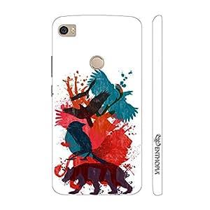 Enthopia Designer Hardshell Case Animal Love Back Cover for Xiaomi Mi Max