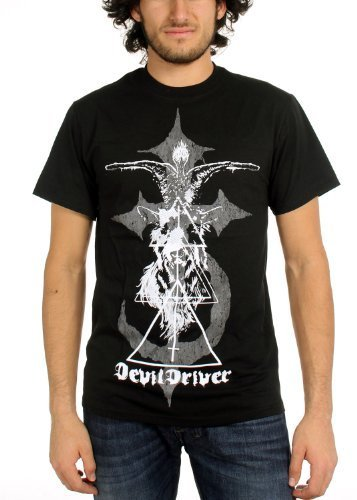 DevilDriver - Uomo Goat T-Shirt in Nero, Small, Nero